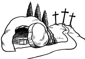 Ressuscit sur notre blog - Coloriage catholique ...