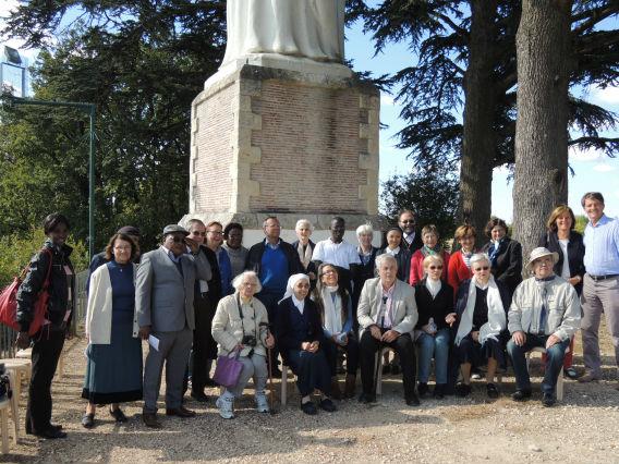 Rassemblement de la Famille Marianiste à ND de Bon Encontre pour la journée mondiale de prière marianiste