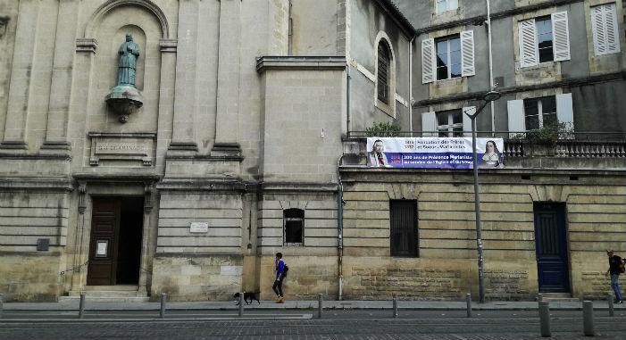 Banderolle du bicentenaire à La Madeleine