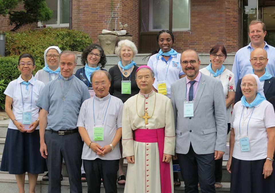 Responsables dans la Famille Marianiste Corée 2018